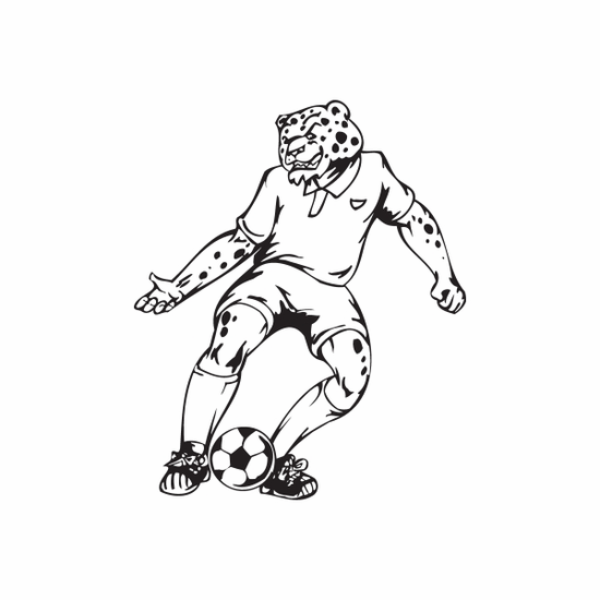 Detailed Soccer Wall Decal - Vinyl Decal - Car Decal - DC 008