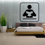 Reading Sign Decal