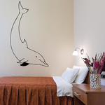 Playful Dolphin Decal