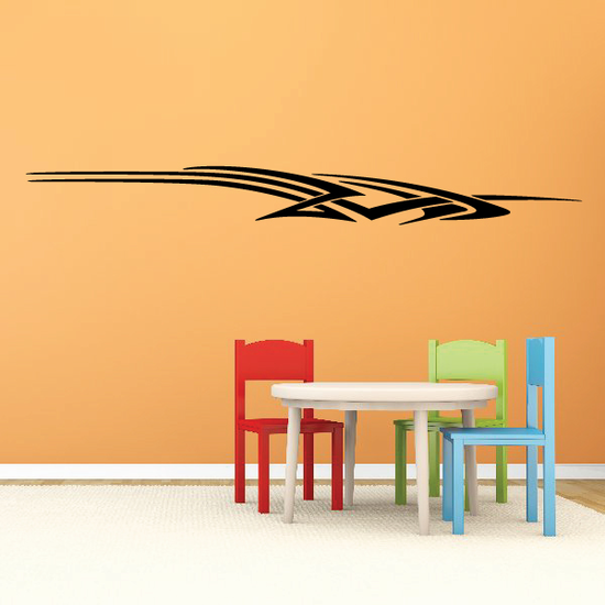Racing Vehicle Pinstripe Vinyl Decal - Car Decal - Wall Decal - MC131