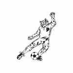 Detailed Soccer Wall Decal - Vinyl Decal - Car Decal - DC 033