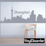 Shanghai China Decal