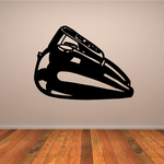 Motorcycle Gas Tank With Gauges Decal
