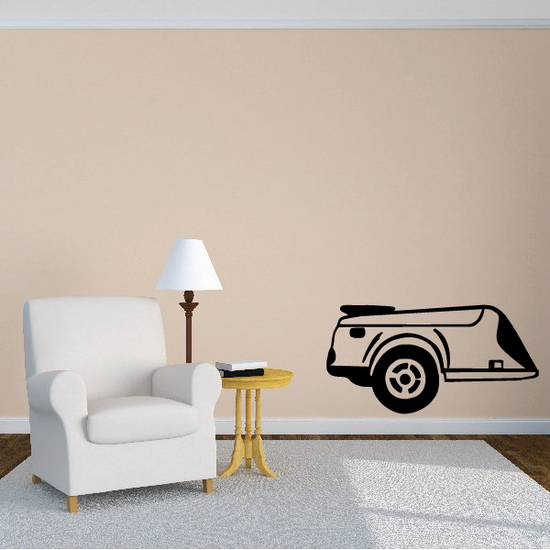 Motorcycle Trailer Decal