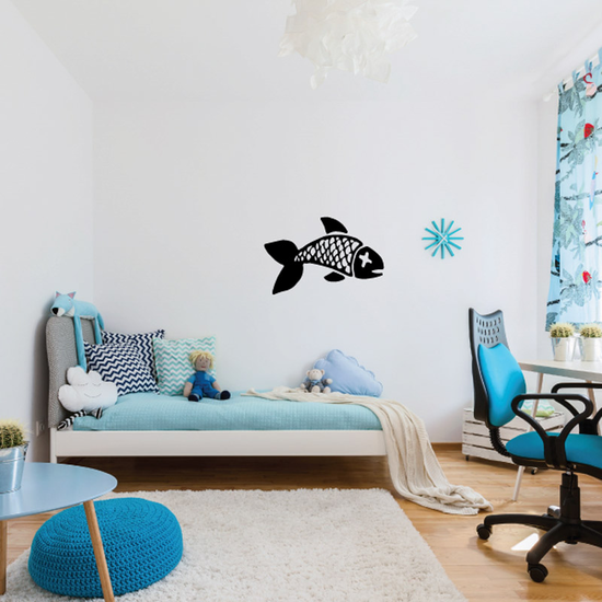 Fish Wall Decal - Vinyl Decal - Car Decal - DC104
