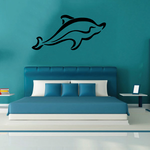 Smooth Dolphin Decal