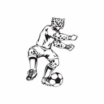 Detailed Soccer Wall Decal - Vinyl Decal - Car Decal - DC 049