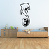 Dolphin and Tail Around Yin Yang Decal