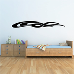 Racing Vehicle Pinstripe Vinyl Decal - Car Decal - Wall Decal - MC164