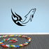 Blazing Waves Dolphin Decal