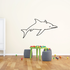 Long Nose Dolphin Decal