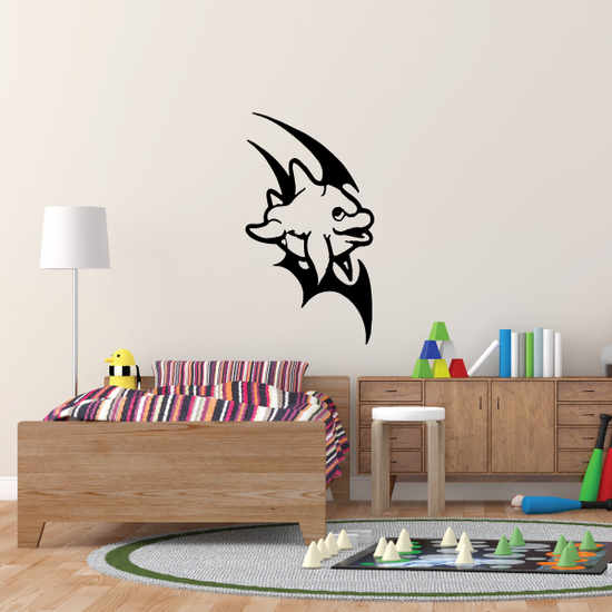 Tribal Cute Dolphin Decal