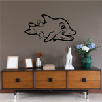 Cutie Kids Bubble Dolphin Decal