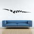 Checkered Flags Wall Decal - Vinyl Decal - Car Decal - SM001