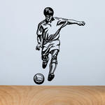 Soccer Wall Decal - Vinyl Decal - Car Decal - CDS022