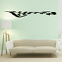 Checkered Flags Wall Decal - Vinyl Decal - Car Decal - SM002