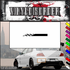 Checkered Flags Wall Decal - Vinyl Decal - Car Decal - SM004