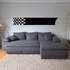 Checkered Flags Wall Decal - Vinyl Decal - Car Decal - SM007