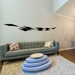 Checkered Flags Wall Decal - Vinyl Decal - Car Decal - SM008