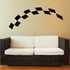 Checkered Flags Wall Decal - Vinyl Decal - Car Decal - SM028