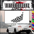 Checkered Flags Wall Decal - Vinyl Decal - Car Decal - SM038