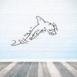 Rapid Waters Dolphin Decal