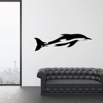 Smooth Swimming Dolphin Decal