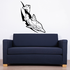 Cross Contour Spike Dolphin Decal