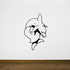 Tattoo Dolphin and Heart Decal