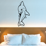 Playful Kids Dolphin Decal