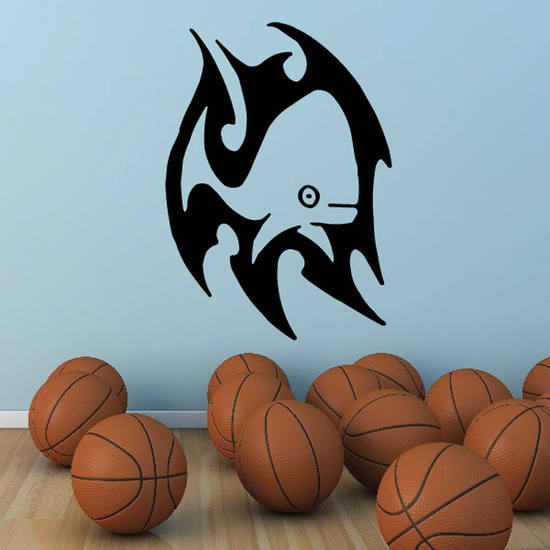 Staring Whale Decal