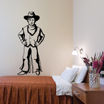 Cowboy Kids Wall Decal - Vinyl Decal - Car Decal - CD004
