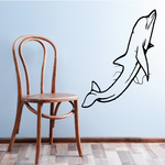 Shallow Depths Dolphin Decal