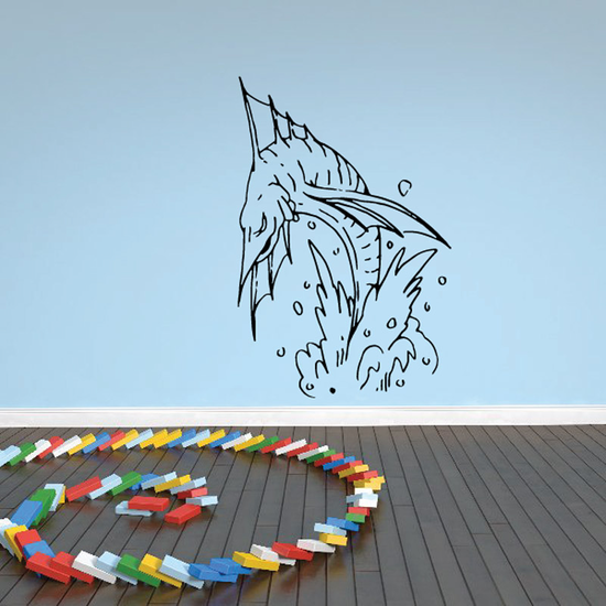 Fish Wall Decal - Vinyl Decal - Car Decal - DC116