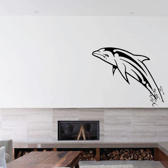Atlantic Dolphin Decal