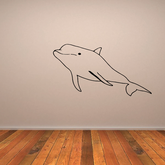 Bottlenose Dolphin Decal
