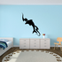 Wave Water Dolphin Silhouette Decal