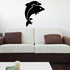 Dolphin Couple Jumping Decal