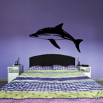 Pacific Dolphin Swimming Decal
