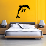 Pacific Dolphin Leaping Decal
