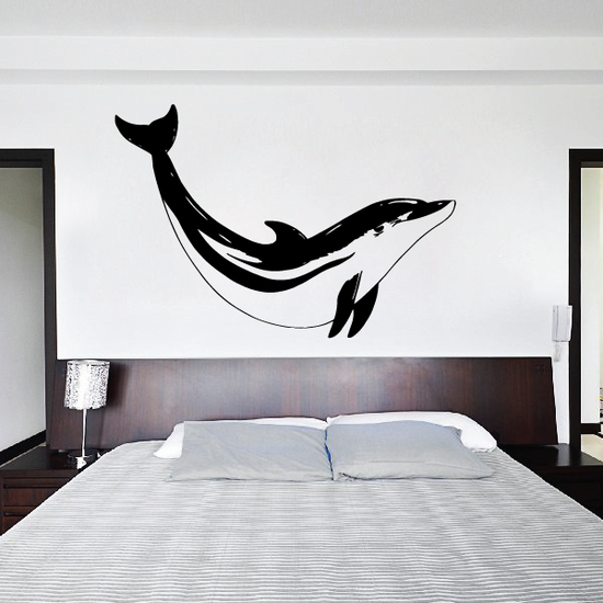 Pacific Dolphin Diving Decal
