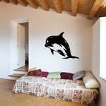 Pacific Dolphin Gazing Decal