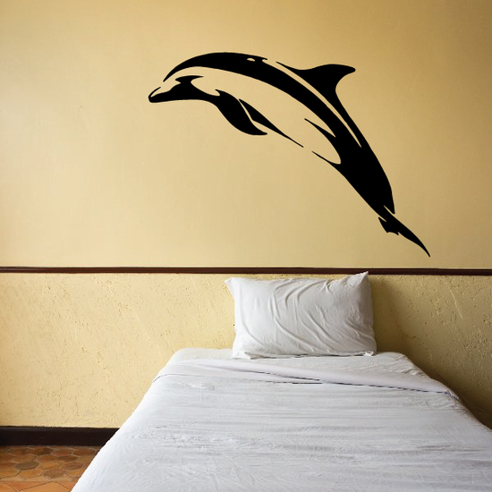 Pacific Dolphin Rise Decal