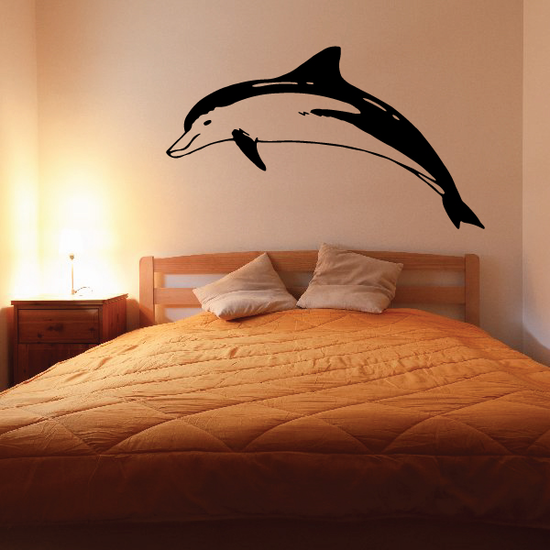 Pacifc Dolphin Floating Decal