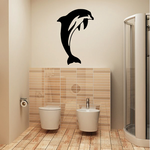 Spinner Dolphin Doing Tricks Decal
