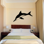 Spinner Dolphin Diving Decal