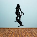 Fitness Bicycle Decal