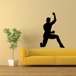 Male Stretching Decal