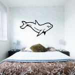 Sassy Dolphin Decal