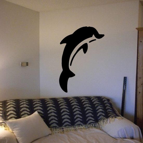 Pacific Rising Dolphin Decal